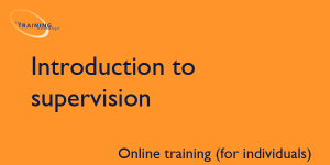 Introduction to supervision (online for individuals)