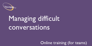 Managing difficult conversations (online for teams)
