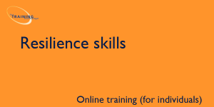 Resilience skills (online for individuals)