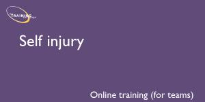 Self injury (online for teams)