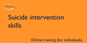 Suicide intervention skills (online for individuals)