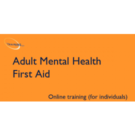 Adult Mental Health First Aid (online for individuals)