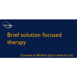 Brief solution focused therapy