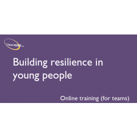 Building resilience in young people (online for teams)