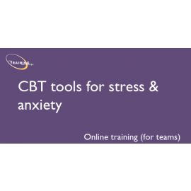 CBT tools for stress & anxiety (online for teams)