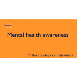 Mental health awareness (online for individuals)