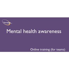 Mental health awareness (online for teams)