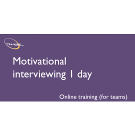 Motivational interviewing 1 day (online for teams)