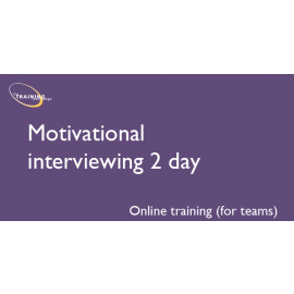 Motivational interviewing 2 day (online for teams)