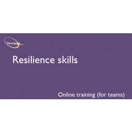 Resilience skills (online for teams)