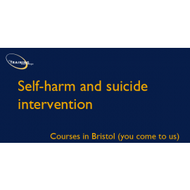 Self-harm & suicide intervention