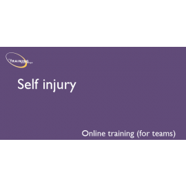 Self injury (online for teams)