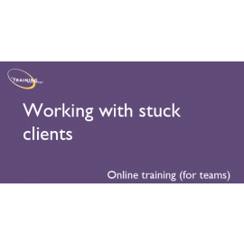 Working with stuck clients (online for teams)
